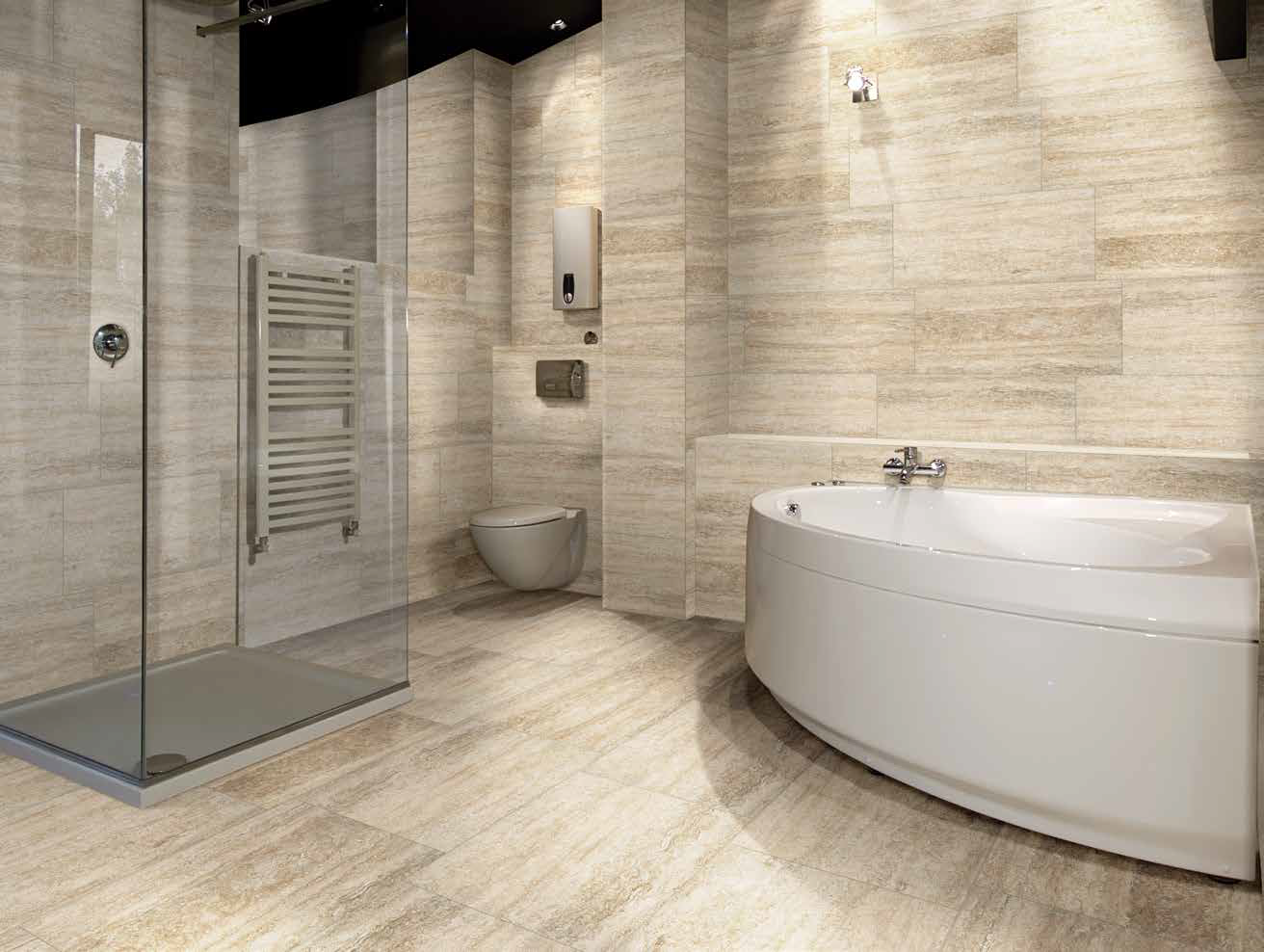 ingenious ivory vein cut travertine. With its new porcelain tile series  Forum Mediterranea delivers the look of classic vein cut travertine Cumberland Stone Vein Cappuccino 12x24 Porcelain Tile