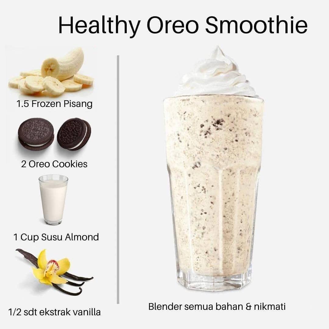 15 7k Likes 121 Comments Inspirasi Kuliner 1001menuenak On Instagram Lima Resep Minuman Sehat Gesek Untu Oreo Milkshake Resep Minuman Oreo