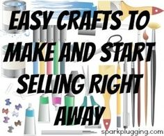 Easy Crafts To Make And Start Selling Right Away Craft Ideas
