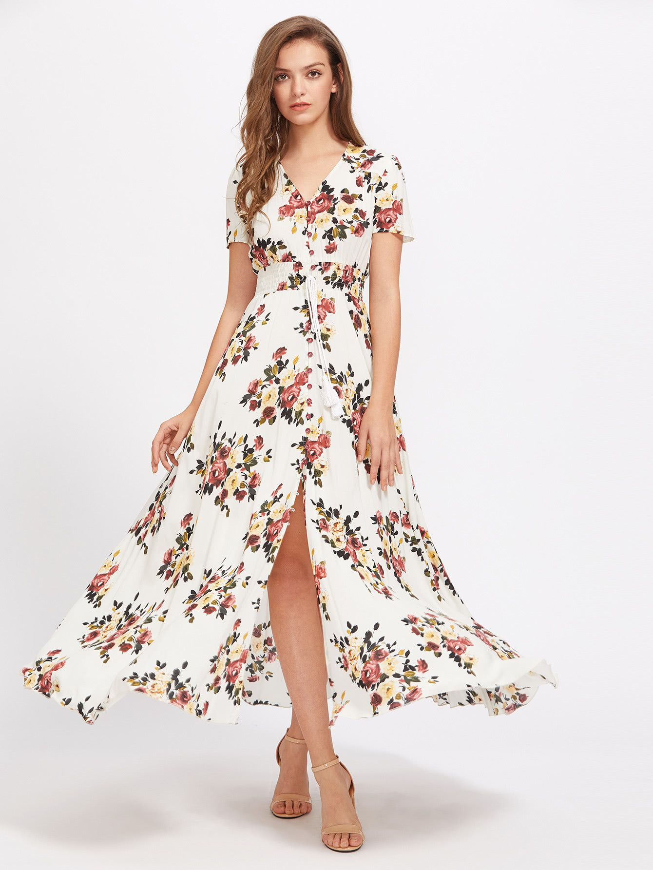 Consigue este tipo de vestido informal de SheIn ahora! Haz clic
