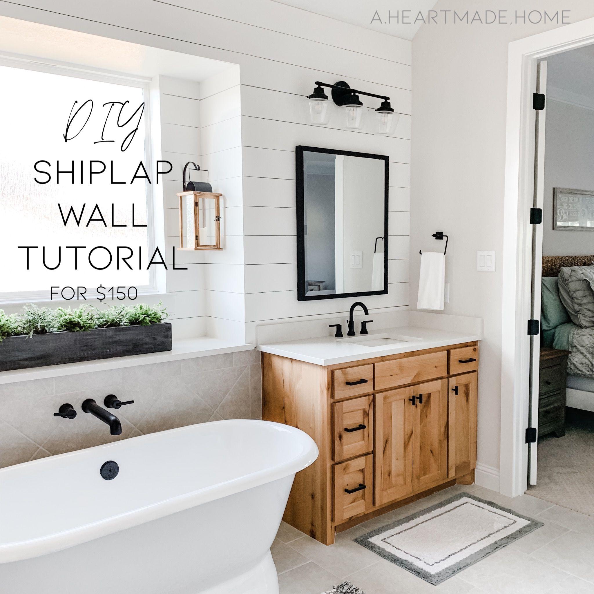 21 diy Bathroom wall ideas