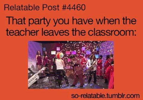 No teacher! @sarah sorial lol pinterest