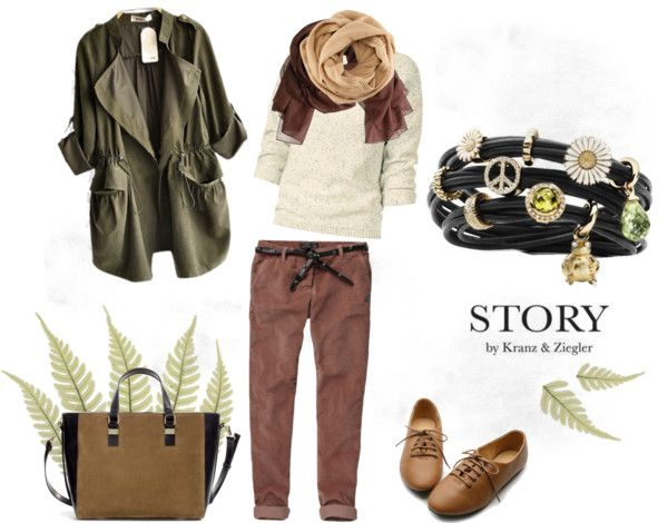"""Casual STORY"" by kattjaf ❤ liked on Polyvore"