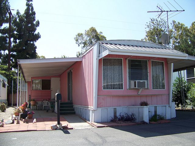 1950s 60s Mobile Home Mobile Home Exteriors Mobile Home Makeovers Mobile Home