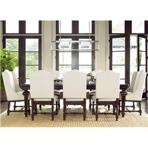 Shop For The Universal Proximity 9 Piece Dining Set At Hudsons Furniture