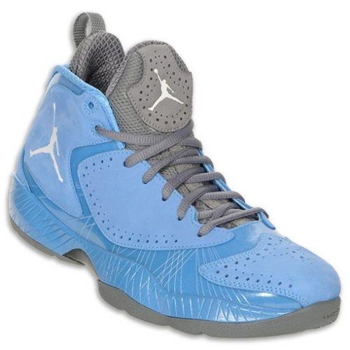 Air Jordan 2012 Deluxe University Blue White Dark Steel Grey 484654 ... fe7c7195d4