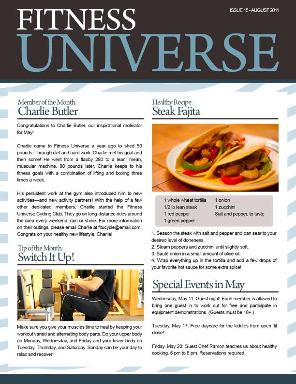 newsletter examples - google search | newsletter | pinterest