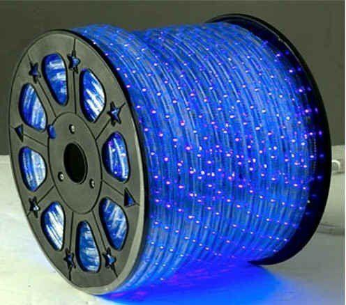 Blue Led Rope Lights Auto Home Christmas Lighting 49 Feet See