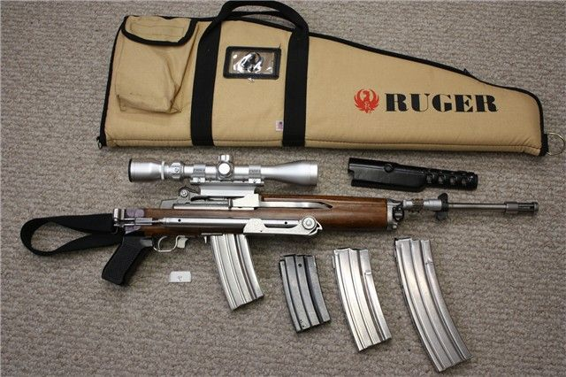 Ruger Mini-14 Pre-Ban Folding Stock SS Rifle Set | Shooting