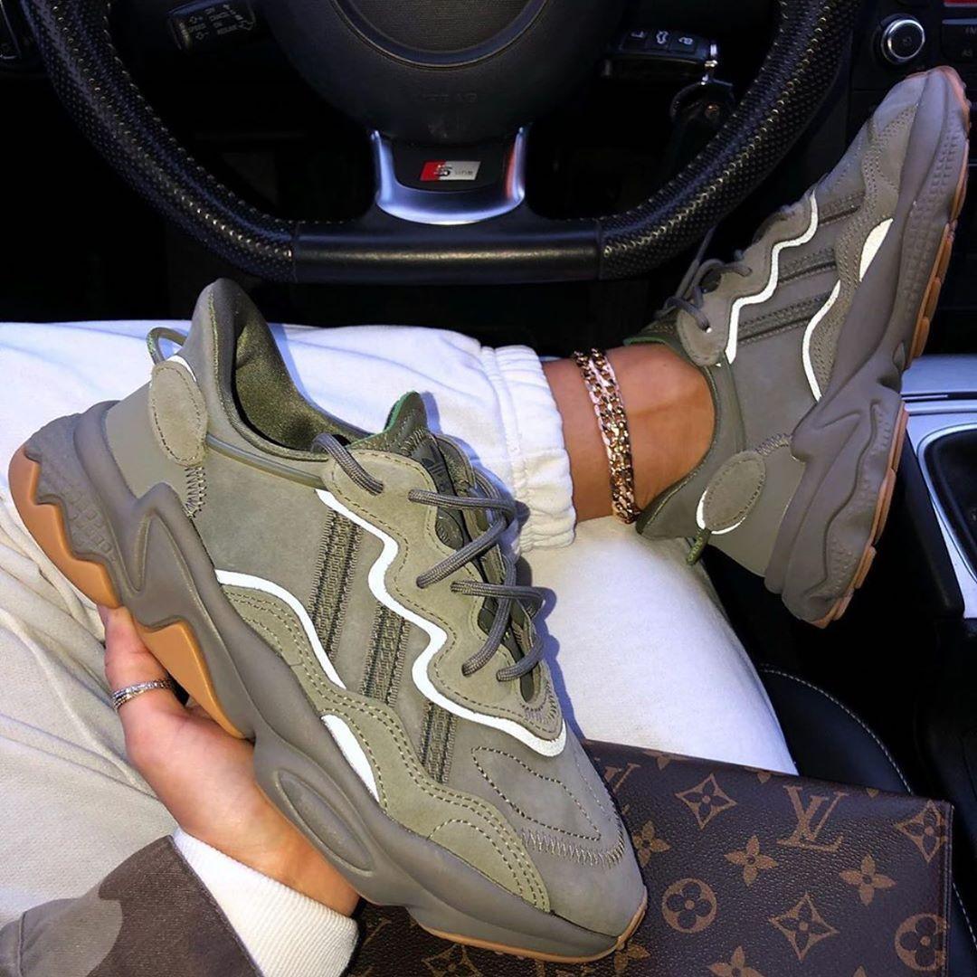 adidas donna scarpe ozweego bianche