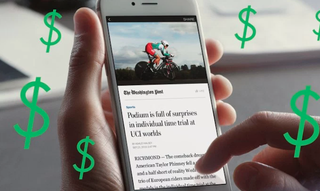 Facebook now testing paywalls and subscriptions for