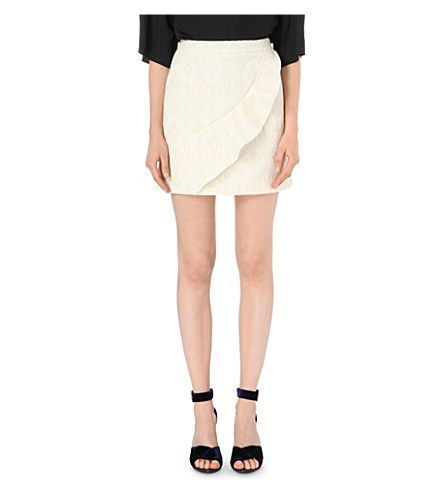 MAJE Jody Jacquard Skirt. #maje #cloth #skirts