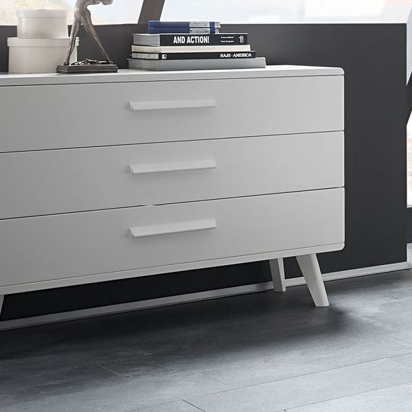 Weiße Buchenkommode \ - schlafzimmer ideen weis modern