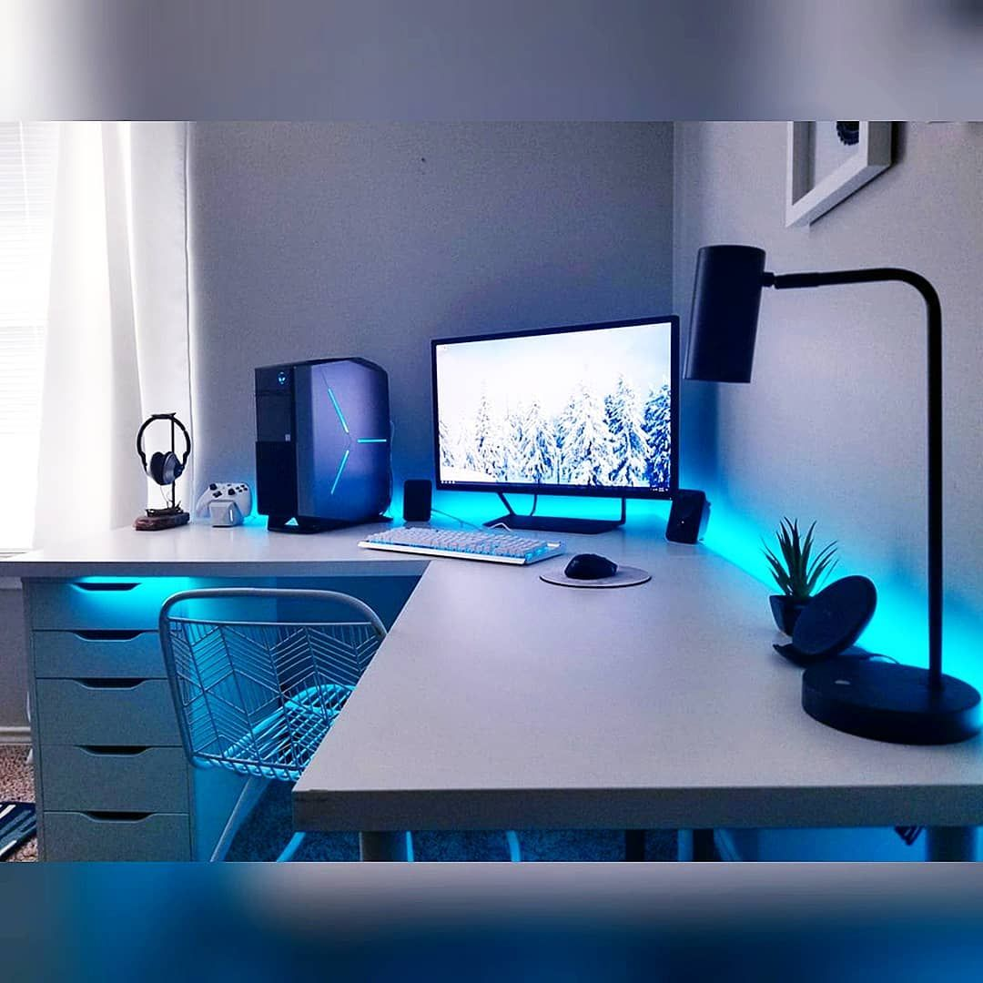 Specs Last Pic Stunning Battle Station Black And White Setups With