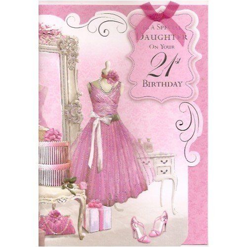Pin by mara feliciano acevedo on happy birthday pinterest happy happy birthday daughter card to a special daughter on your 21st birthday amazon office products bookmarktalkfo Images