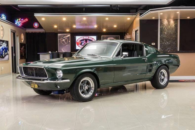 1967 Ford Mustang Fastback Bullitt Mustangclassiccars Ford