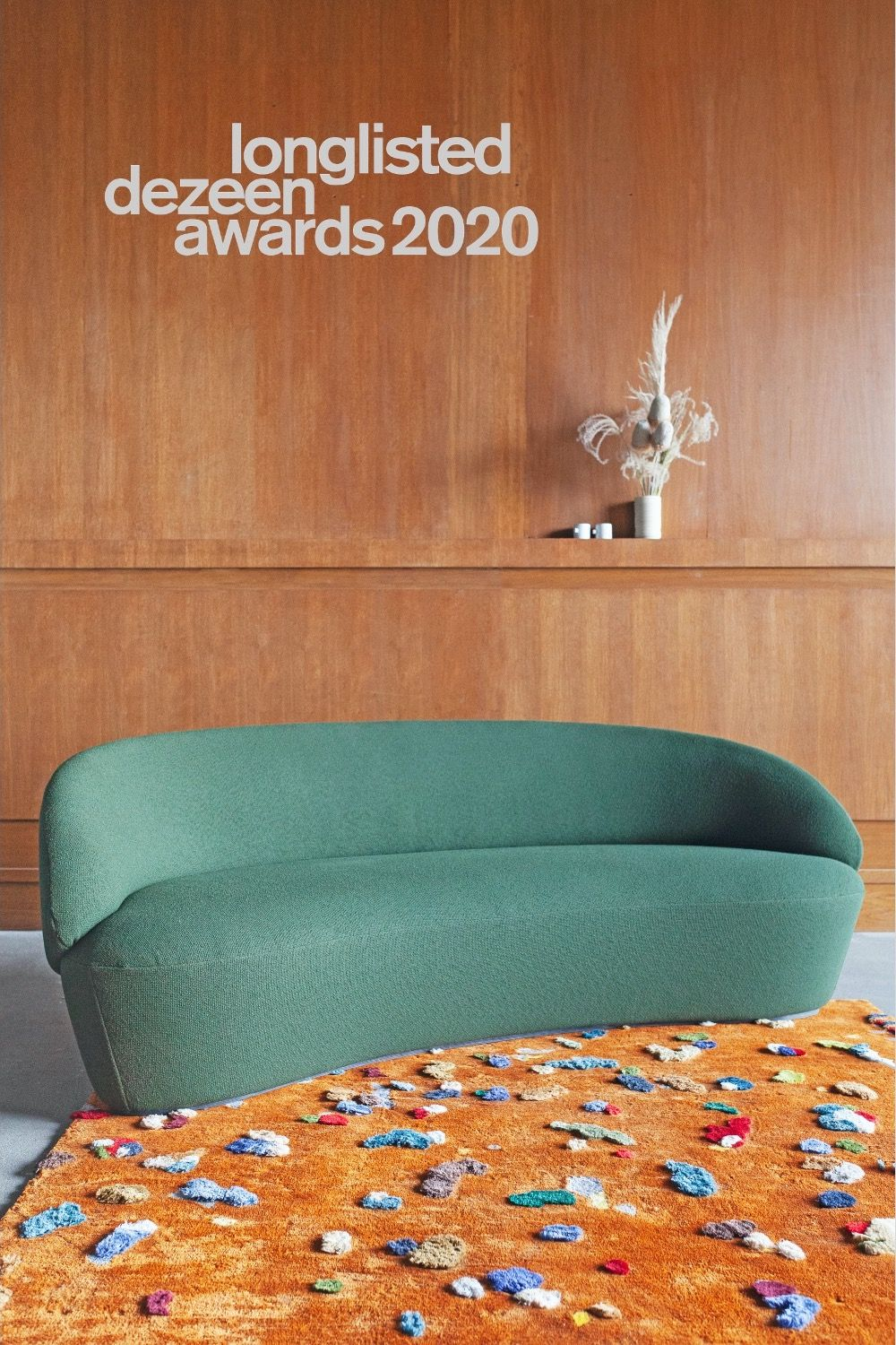 Lithuanian design brand EMKO is longlisted Dezeen Awards 2020. Agent France @DESIGNENVUE. #emkolt #dezeenawards2020 #dezeen #designrug #tapisdesign #sofacourbe #canapécourbe