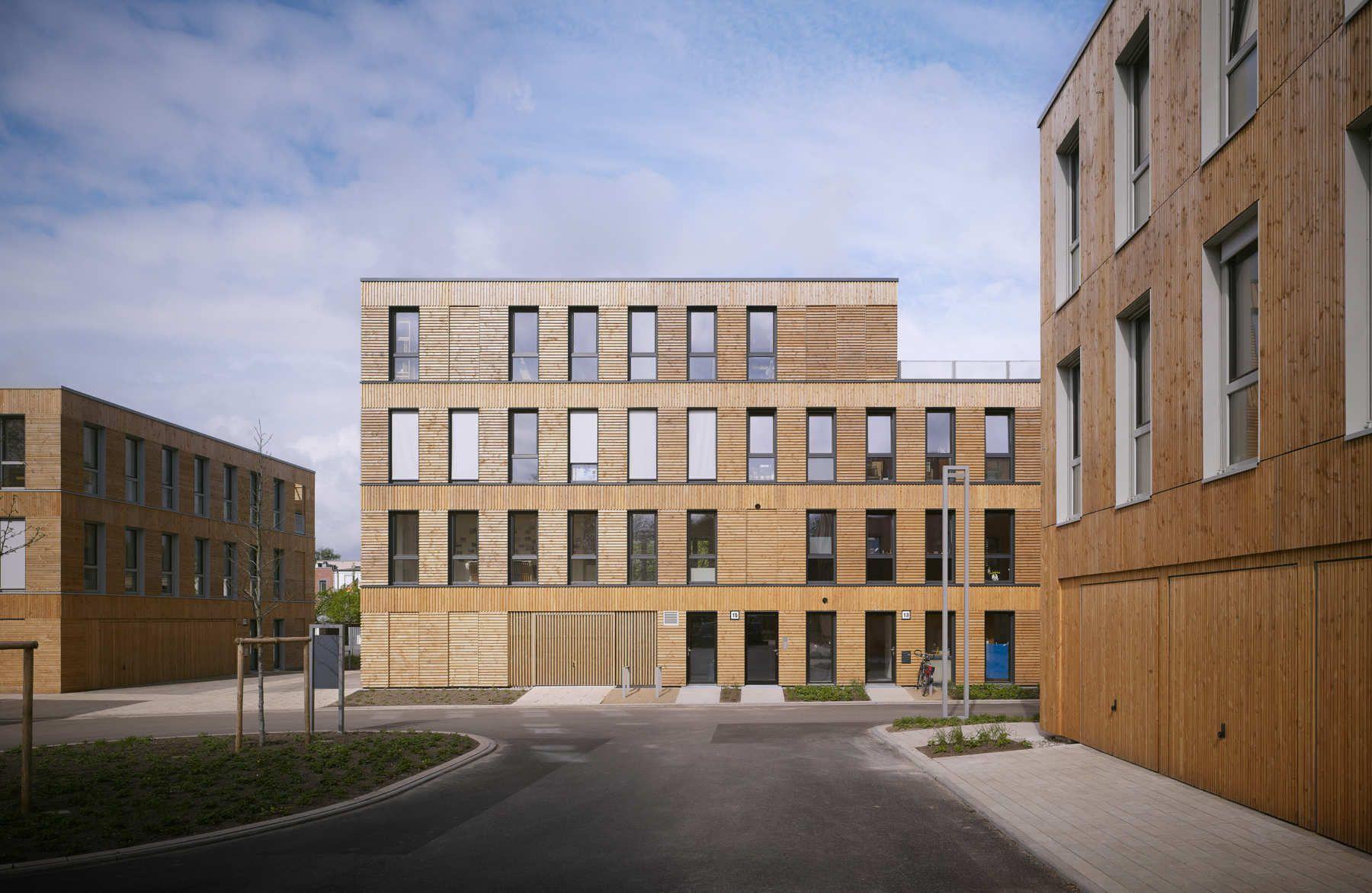 LAN architecture 33 Logements participatifs Hambourg