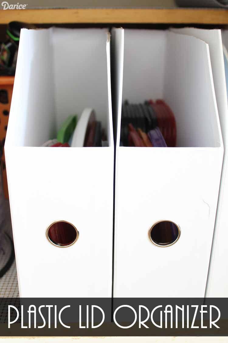 Diy Kitchen Storage Plastic Lid Organizer Darice