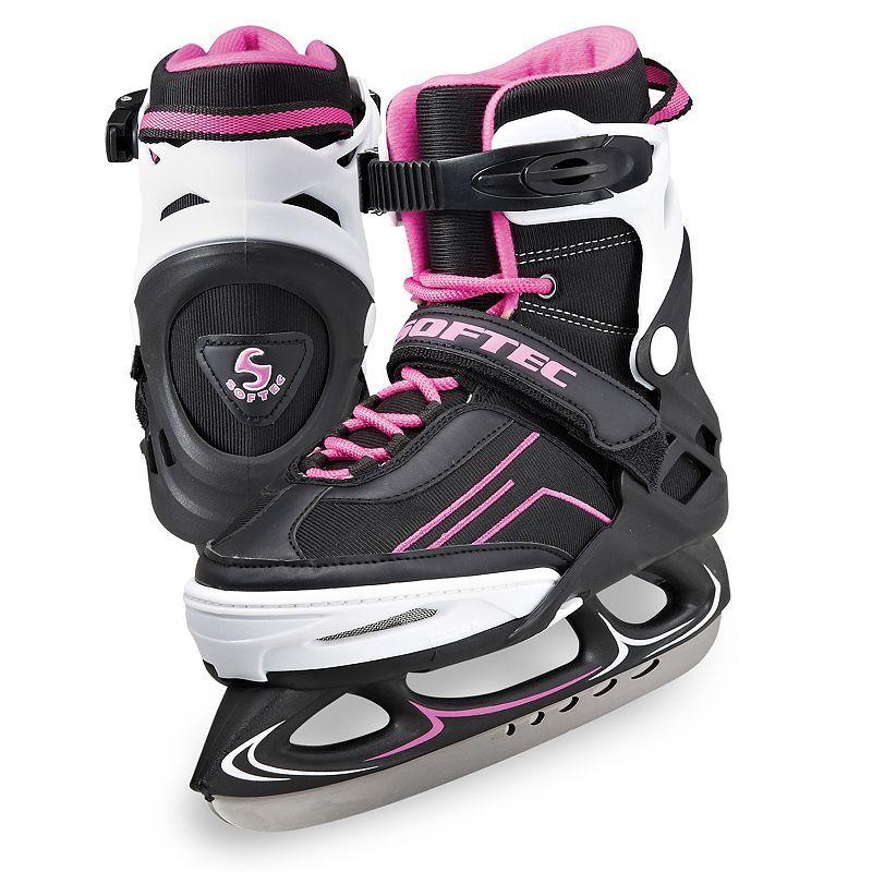 Jackson Ultima Youth Softec Vibe XP1000 Adjustable Recreation Ice Skates, Purple