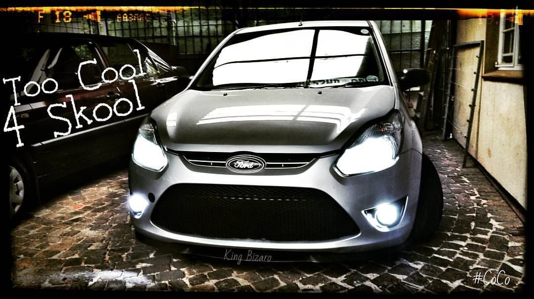 Too Cool For Skool Ford Figo Stance Ffsa Fordsquad Projectf