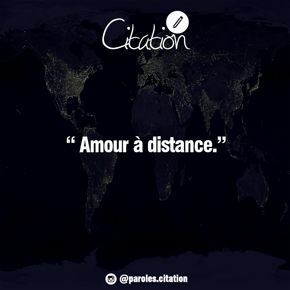 Gut bekannt Amour à distance. #avis #amour #distance #citation #paroles  NH18