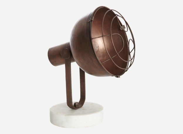 Rh0110 - Tischlampe, SPOT, h.:38, dia.:25, l.:32 cm (E27)
