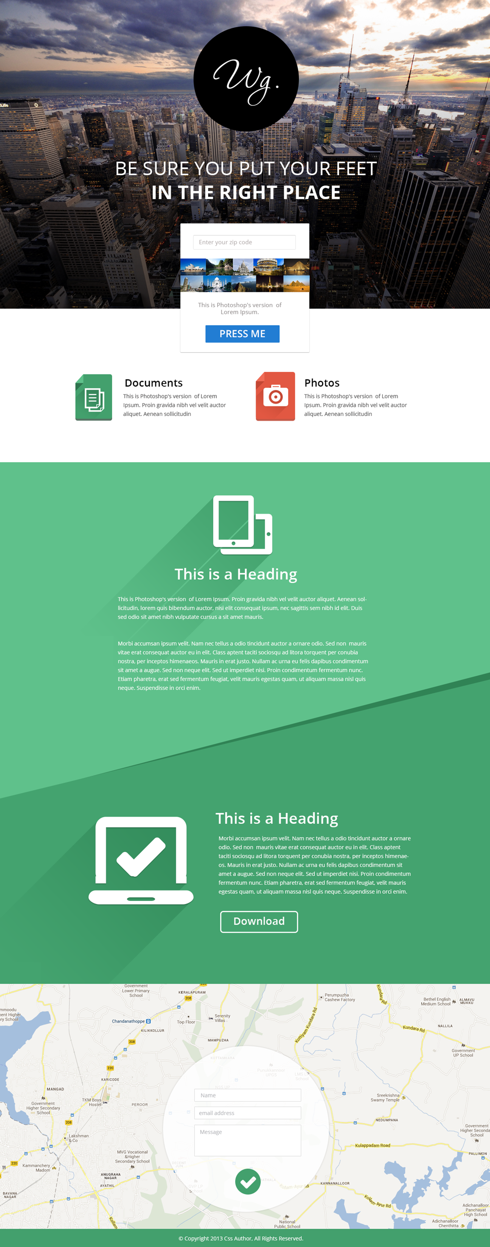 16 Premium And Free Psd Website Templates Free Website Templates Web Design Website Template