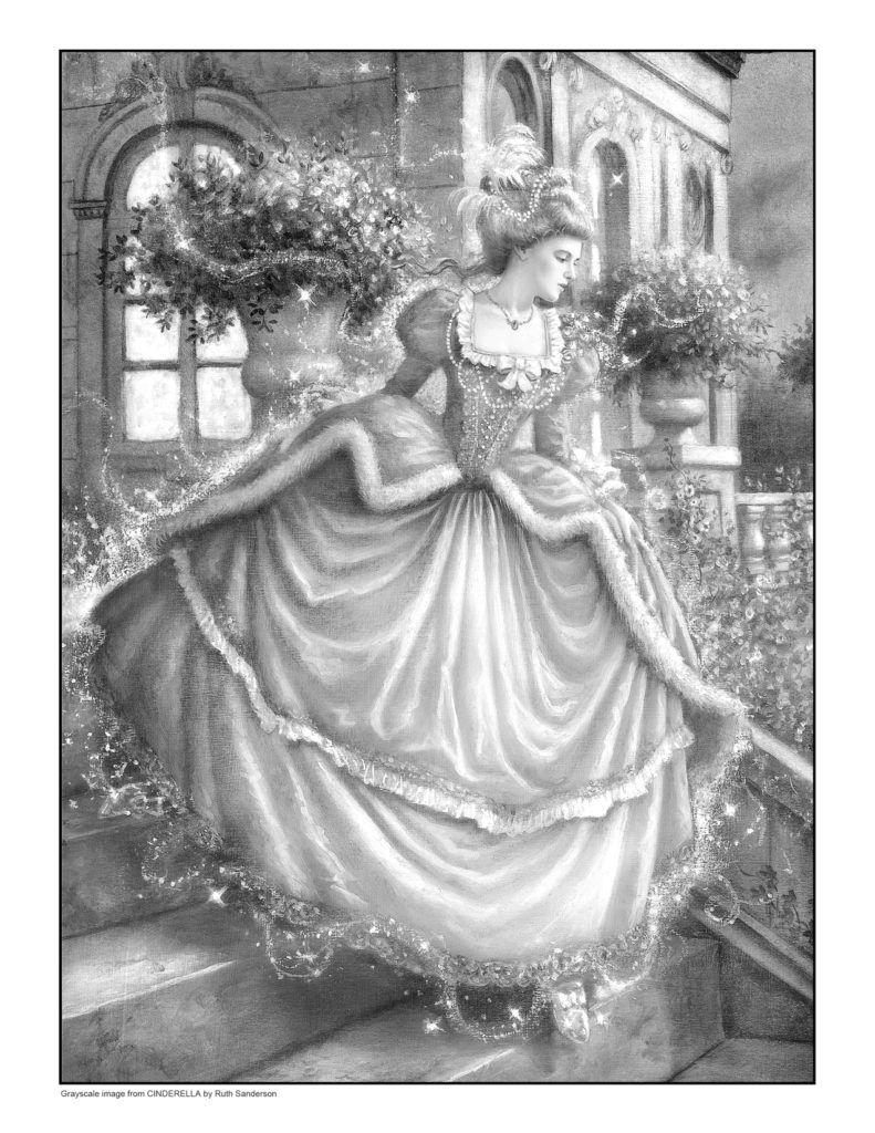 Coloring Books Ruth Sanderson Grayscale Coloring Books Grayscale Coloring Coloring Pages [ 1024 x 791 Pixel ]