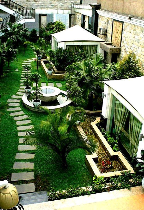 Urban Garden Design Ideas Part - 44: PEQUENOS JARDINS URBANOS 30 Small Urban Garden Design Ideas