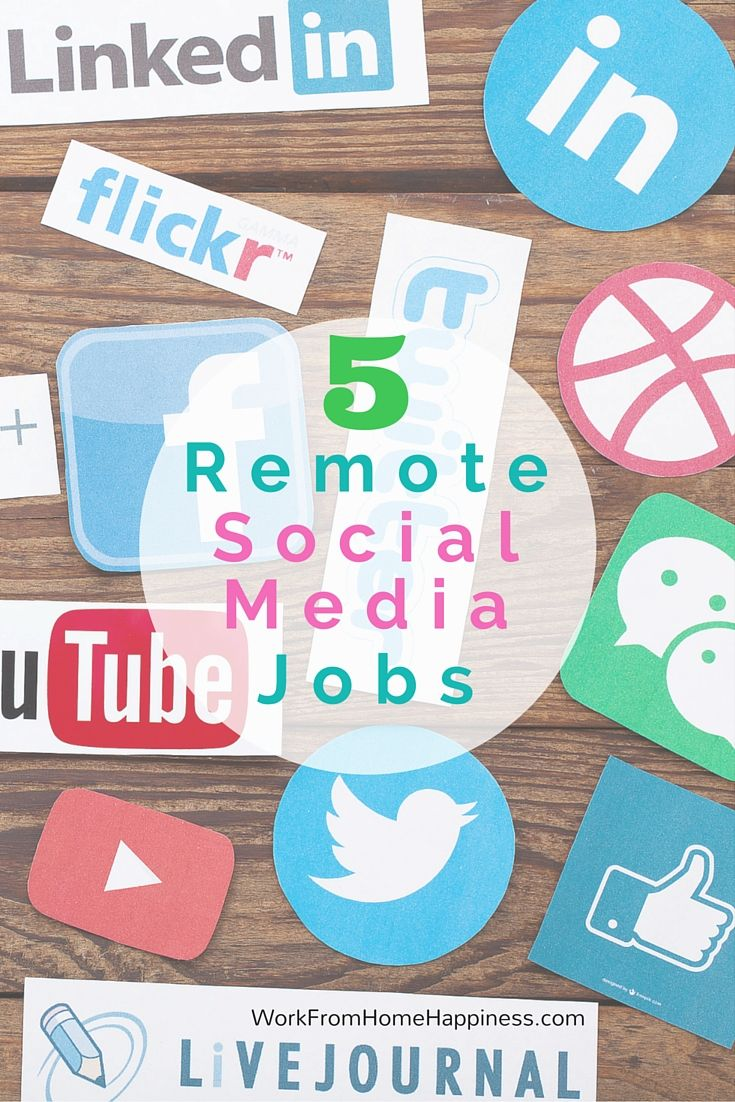 Remote Social Media Jobs >> 5 Remote Social Media Jobs Remote Business And Saving Money