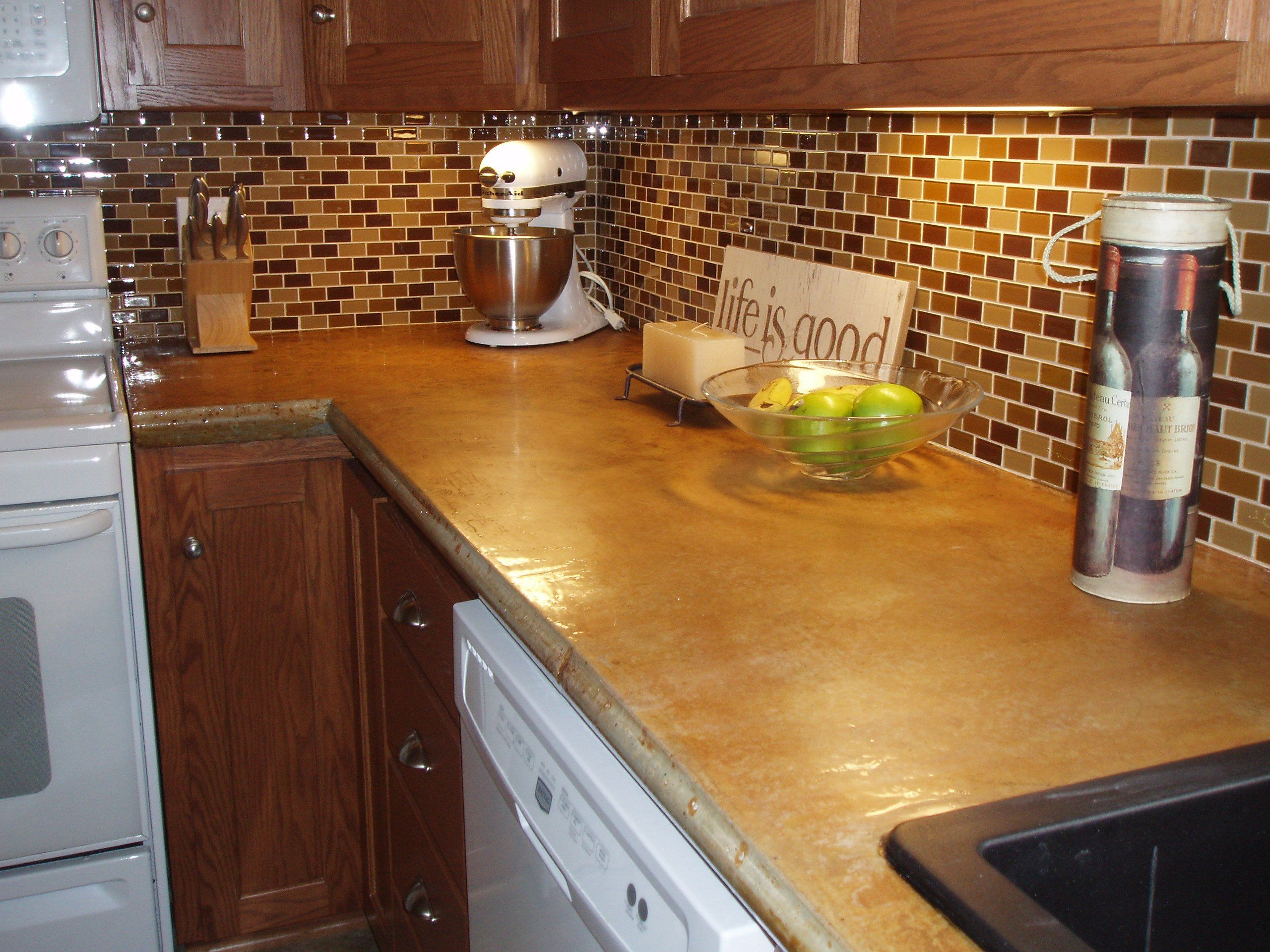 Concrete Countertop Gallery (With images) | Countertops ...