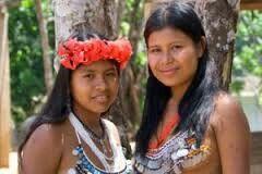 Mujeres Indigenas De Panamá Semi Desnudas Variedades Jc9 Mujeres