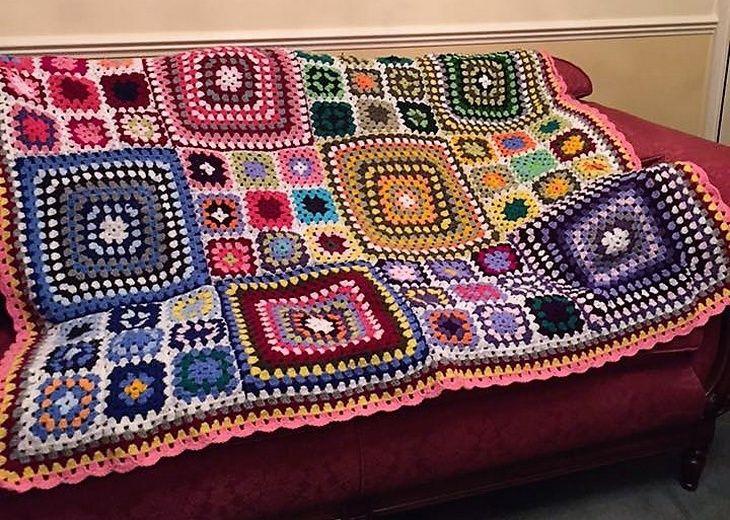 Stunning Design Ideas for Crocheted Blankets