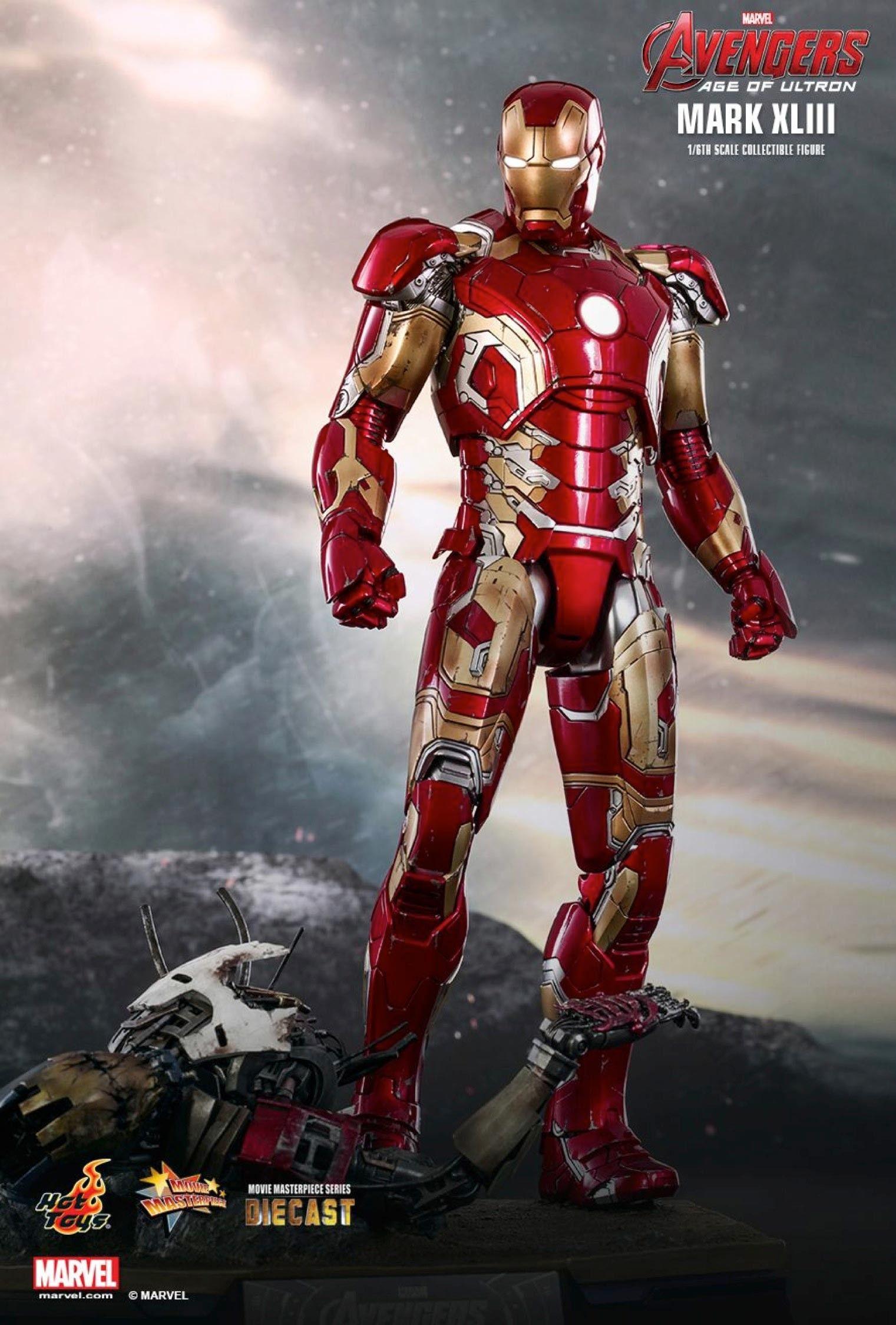 Avengers age of ultron mark xliii sixth scale figure
