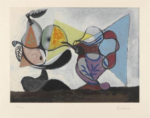 Pablo Picasso, Nature morte aux poires et au pichet (Still Life with Pears and Pitcher) 1960