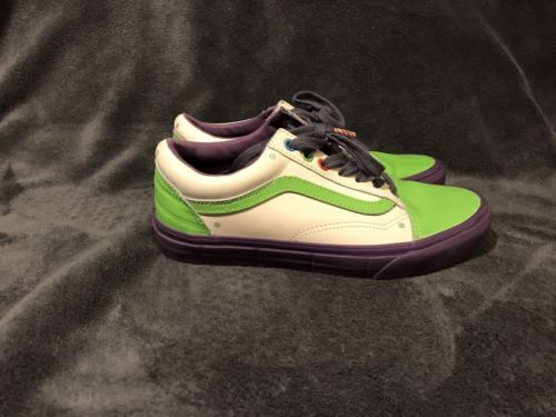 Size 7 Vans Old Skool Toy Story Edition Limited Buzz