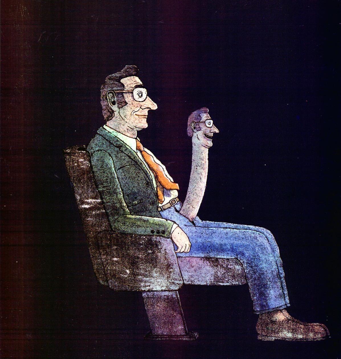 1984 Alain Le Saux Mateur Dolorosa (Lui n° 249) | #70s #Posters #Magazines #Art