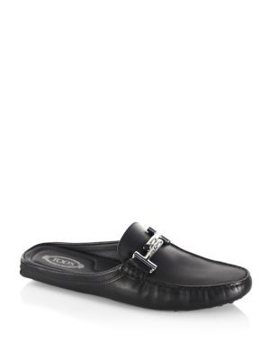 Tod's Gommini Patent Leather Mules