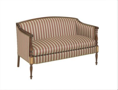 Perfect Sheraton Loveseat From The James River Collection By Hickory Chair  Furniture Co.