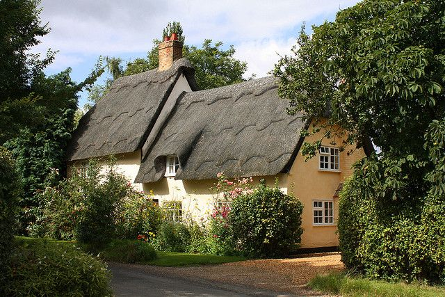 Thatched House Wennington English House Thatched House Dream Cottage