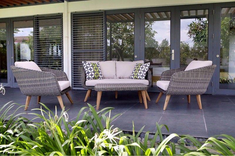 Salon de jardin marque au jardin de chloé, style scandinave ...