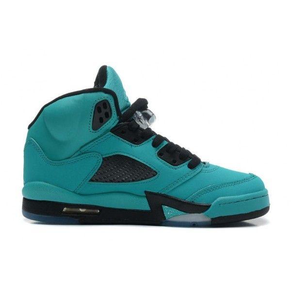 72590a6c5b9743 wholesale blue black diamond icy blue mens air jordan 5 tiffany retro