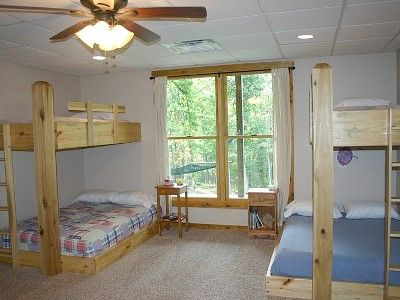 Double Bunk Beds Full Over Twin In Lower Level Bunk Beds Double Bunk Beds Home