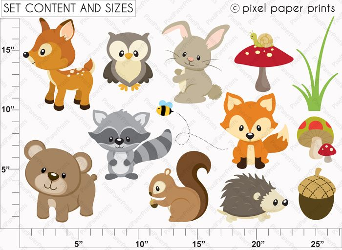 Pin By Divya Sharma On Kid Interior Play Areas Paper Animals Woodland Animals Animal Templates
