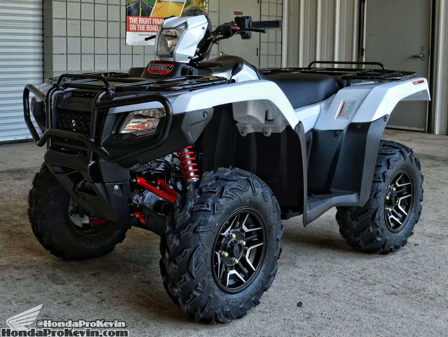 2016 honda 500 foreman vs rubicon atv comparison review whats the difference
