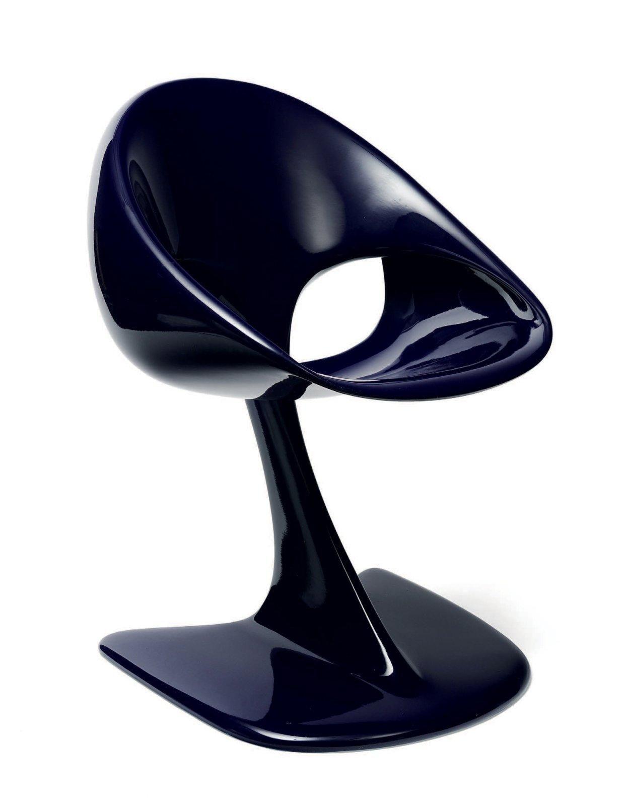 Luigi colani n en 1928 dition limit e chaise poly cor fibre de verre et p - Chaise eames fibre de verre ...