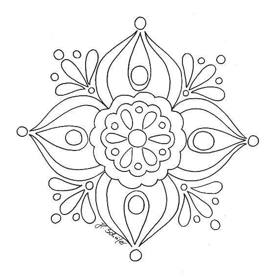 Mandalas Para Pintar | Ilustraciones | Pinterest | Mandalas, Pintar ...