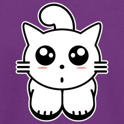 T Shirt Chaton Kawaii Manga A Personnaliser Images Kawaii