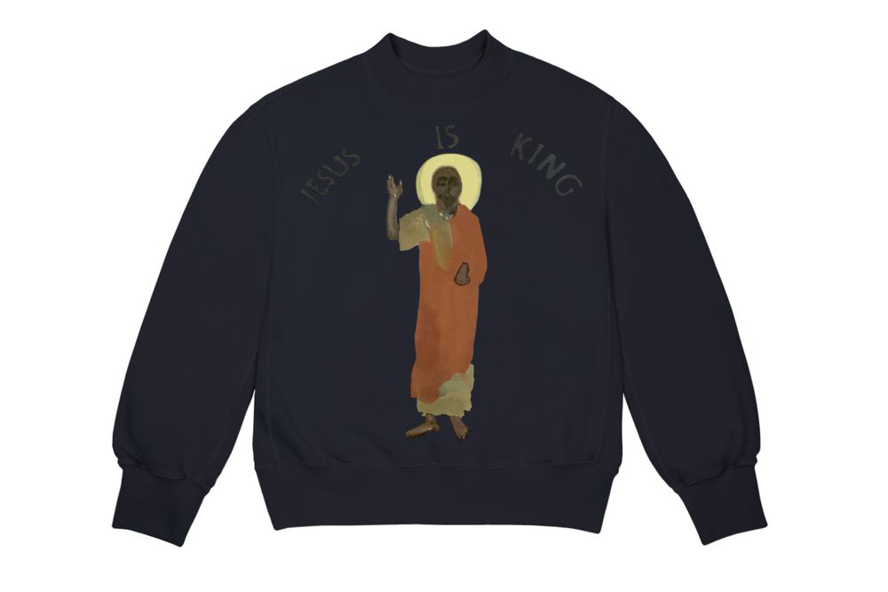 Kanye West Releases Official Jesus Is King Nyc Merch Update Kanye West Graphic Sweatshirt Jesus Is King Kanye